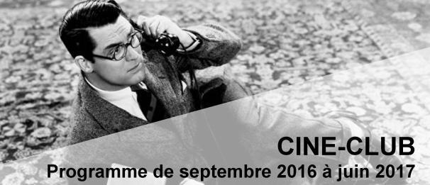 Bandeau Prog Ciné-Club 2016-2017