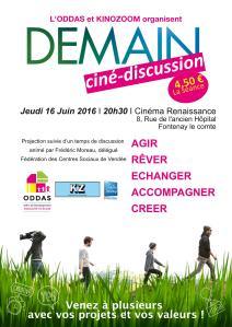 Affiche SR Demain - Cinéma Le Renaissance