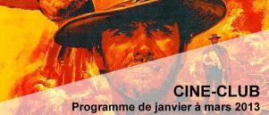 Bandeau Ciné Club janvier - mars 2013