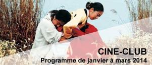 Bandeau Ciné Club janvier - mars 2014