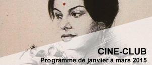 Bandeau Ciné Club janvier - mars 2015
