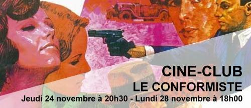 Bandeau le conformiste Ciné-Club 2016-2017
