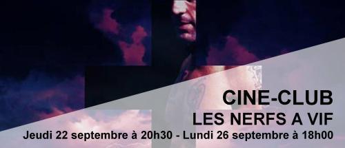 Bandeau Nerfs à vif Ciné-Club 2016-2017
