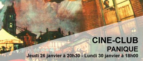 Bandeau Panique Ciné-Club 2016-2017