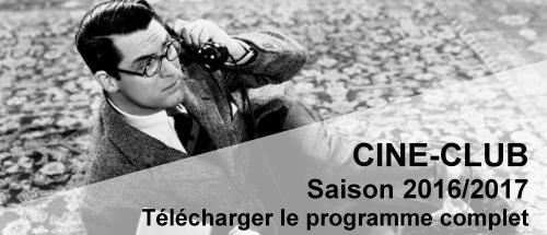 Bandeau Télécharger le prog Ciné-Club 2016-2017