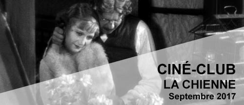 Bandeau La chienne Ciné-Club 2017-2018