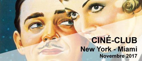 Bandeau New York - Miami Ciné-Club 2017-2018