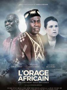 L'Orage africain - Affiche 01