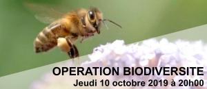 Operation Biodiversité Bandeau